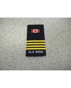 2457 - CLS SSNC Rank slip-on - Deputy Chief