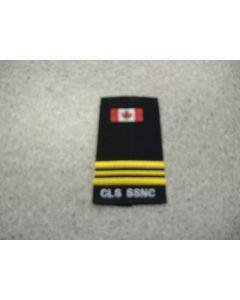 2460 - CLS SSNC Rank slip-on - Platoon Commander