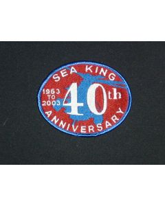 271 31S - Sea King 40th Anniversary Patch