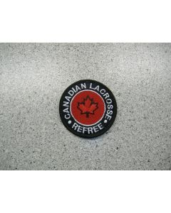 2799 162 C - Canadian Lacrosse Refree Patch