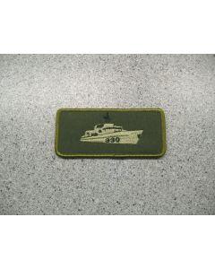 2808 - HMCS Halifax Nametag LVG
