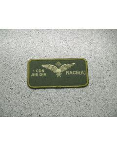 2813 164 G - 1 Cdn Air Div Race(A) Nametag LVG