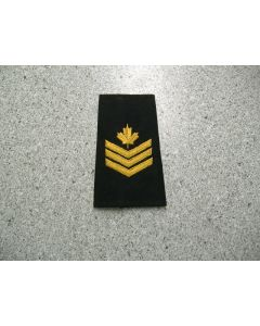 2843 163 B - Sgt Rank Slip-ons