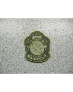 2868 247A - Canadian Forces School of Aerospace Studies Patch LVG