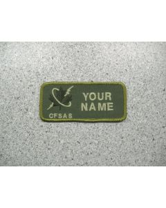 2869 - Canadian Forces School of Aerospace Studies Nametag LVG