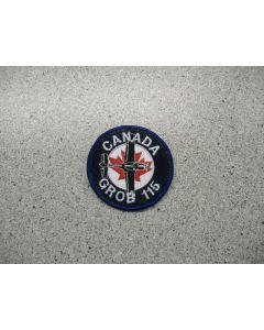 2879 165 A - Canada Grob 115 Patch