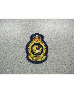 2882 170 B - 9 Wing Gander Heraldic Crest