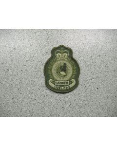 2884 156 D - 9 Wing Gander Heraldic Crest LVG