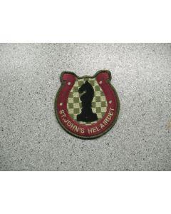 2887 157 D - St. John's Helairdet patch LVG