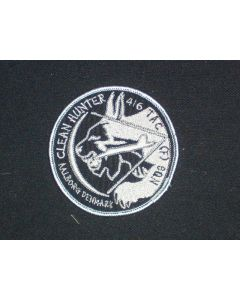 291 - Exercise Clean Hunter, Aalborg Denmark Patch