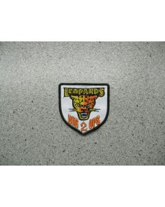 2963 - Big 2 Ops Leopards patch