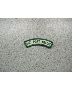 2993 - 1st Port Wallis Shoulder Patch