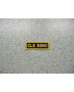 2995 - CLS SSNC Shoulder Flash Patch