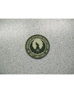 3108 728 C - Weapon System Manager - Det Mirabel Patch LVG