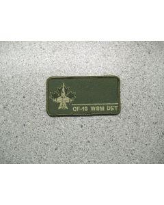 3110 167 C - CF-18 WSM Det Nametag LVG
