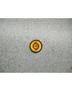 3145 - Hurricane Weather symbol patch