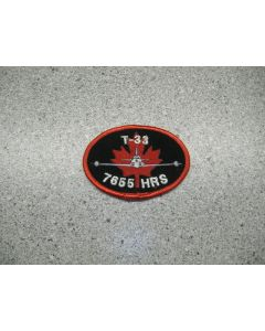 3175 - T-33 7655 Hour Patch