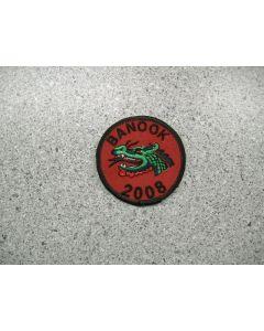 3216 40 - Dragon Cubs patch - Banook 2008