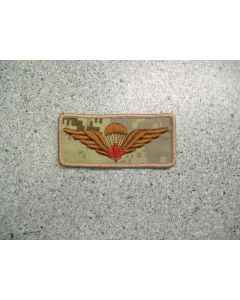 3230 - Airborne Wings Rectangle with Red  Maple Leaf ARID