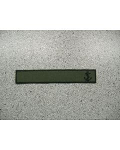 12964 - Navy LVG Nametape