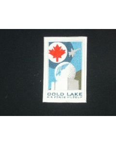 332 - 4 Wing Cold Lake Museum Patch - Rectangle