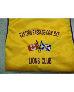 3360 - Eastern Passage-Cow Bay Lions Club Logo for vest