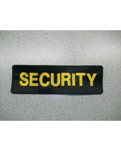 """3369 70 - Security 13"""" x 4"""" patch"""