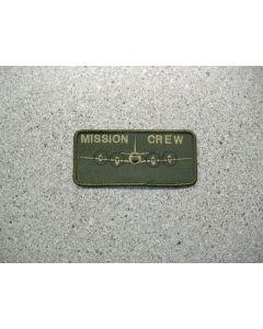 3396 - Aurora nametag Mission Crew LVG