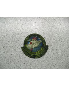 3508 46 - HMCS IROQUOIS Helairdet Patch World Police II LVG