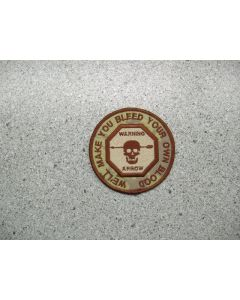 3509 46 - HMCS IROQUOIS - We'll make you bleed .. Patch Arid