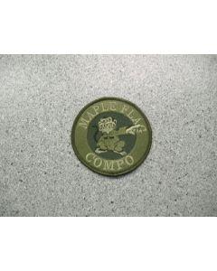 3550 191D - Maple Flag Compo Patch LVG