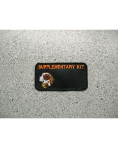 3558 - Supplementary Kit Patch