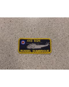 3563 - 443 Squadron Namtag