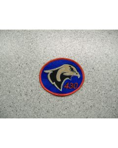 3567 134 D - 430 Sqn Logo Patch