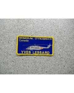 3617 49 - General Dynamics Nametag
