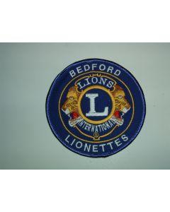 362 150 C - Bedford Lionettes Patch