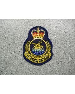 3680 61 A - Regional Gliding School Heraldic Crest - Pacific