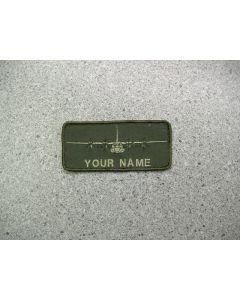 3819 204A - Herc C-130J Nametag LVG