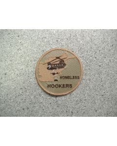 3849 212A - Homeless Hookers - Afghanistan patch Tan