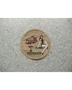 3914 220A - Homeless Hookers - Afghanistan patch Tan