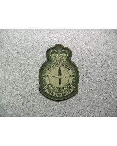 3971 209 A - 408 Squadron Heraldic Crest LVG