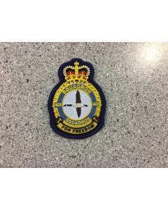 3986 234 C - 408 Squadron Heraldic Crest