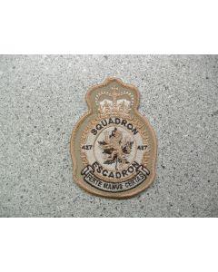 3989 212B - 427 Squadron Heraldic crest Tan