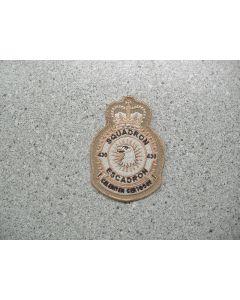 4011 226A - 430 Squadron Heraldic Crest Tan