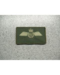 4045 708 D - Australian Wings Nametag LVG