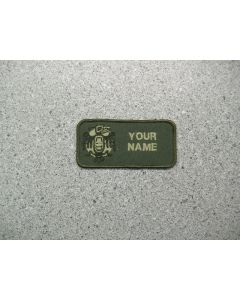 4105 - 19 Wing Operations Nametag LVG