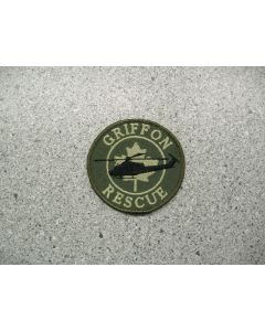 4160 226D - Griffon Rescue Patch LVG