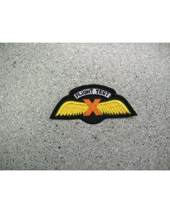 4163 108 B - General Dynamics Wing - Flight Test