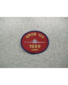 4209 232F - Grob 120 - 1000 hours patch