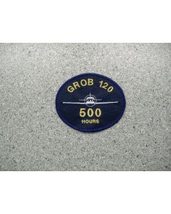 4219 133 A - Grob 120 - 500 Hours Patch